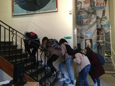 tournage au musée