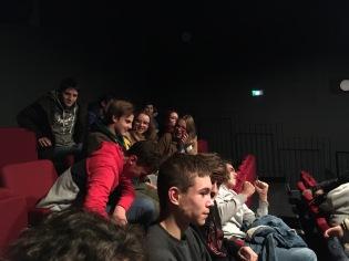 projection des films à l'Université d'Artois