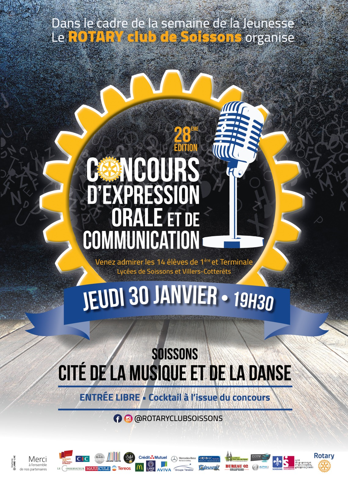 affiche concours eloquence